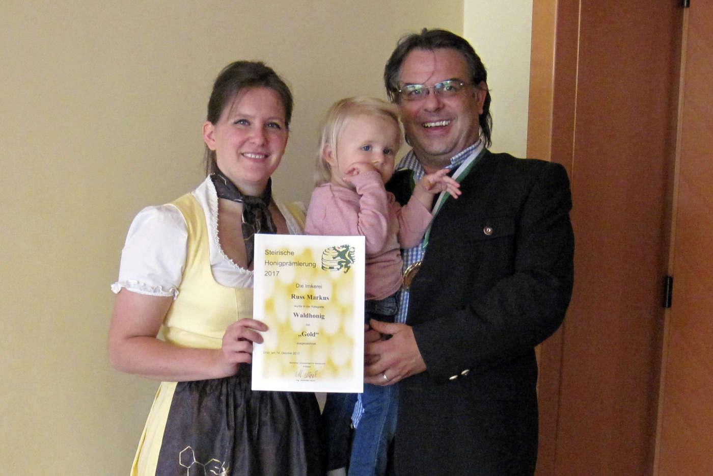 Steirisches Gold für unseren Waldhonig